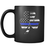 Shamrock Thin Blue Line Flag Mug