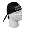 Thin Blue Line Flag Headwrap