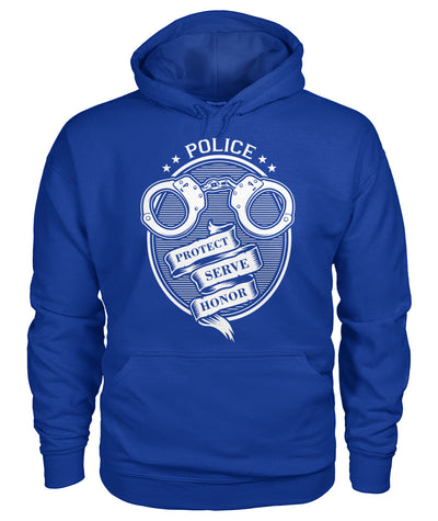 Police Protect Serve Honor Shirts and Hoodies