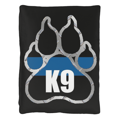 Thin Blue Line K9 Paw Pet Bed