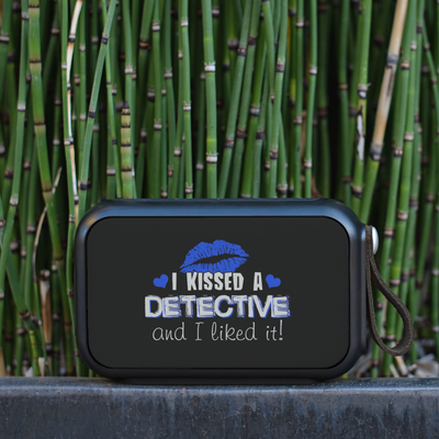 I Kissed a Detective Bluetooth Speaker - 10 Watts
