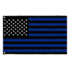 Thin Blue Line Stripes and Stars Flag