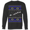 Thin Blue Line Police Christmas Sweaters & Shirts
