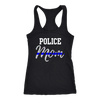 Women's Police Mom Tank Tops
