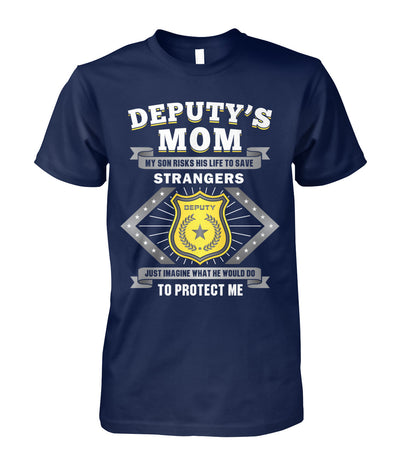 Deputy's Mom My Son Risk His Life to Save Stranger Shirts and Hoodies