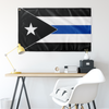 Thin Blue Line Puerto Rico Flag