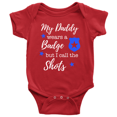I Call the Shots Infant Baby Onesie Bodysuit