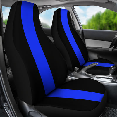 Thin Blue Line Car Seat Covers (set of 2)