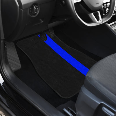 Thin Blue line Car Mats