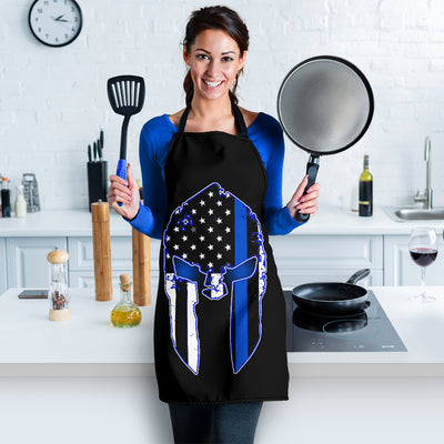 Thin Blue Line Punisher Apron