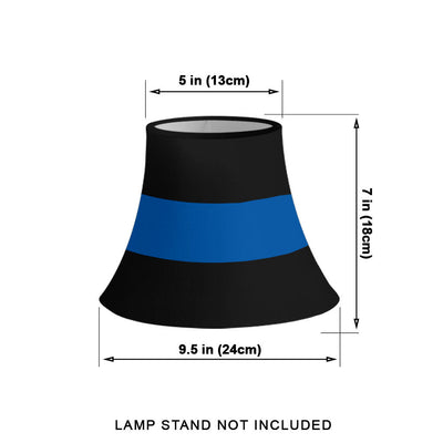 Thin Blue Line Bell Lamp