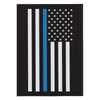 Thin Blue Line American Flag Journal Notebook - Hardcover