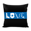 Love - Thin Blue Line Pillow