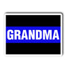Thin Blue Line Grandma Decal Sticker