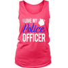 Women's I Love My Police Officer Tank Top