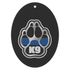 Thin Blue Line K9 Paw Air Freshener - 3 pack