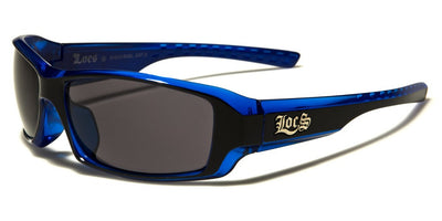 Stylish Thin Blue Sunglasses
