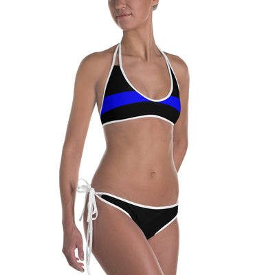 Thin Blue Line Stars & Stripe Bikini Swimwear (reversible)