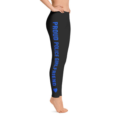 Proud Police Girlfriend Leggings