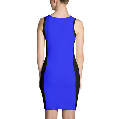 Thin Blue Line Dress
