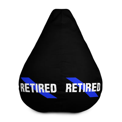 Retired Pole Officer Bean Bag Chair w/ filling