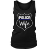Women's Police Wife Tank Top