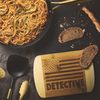 Detective Round Edge Chopping Board