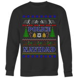 Police Chase Ugly Christmas Shirts and Sweaters
