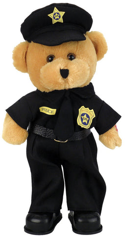"Police Officer Bear Cop Bear dances while singing, ""Bad Boys"", Bad Boys Bear"