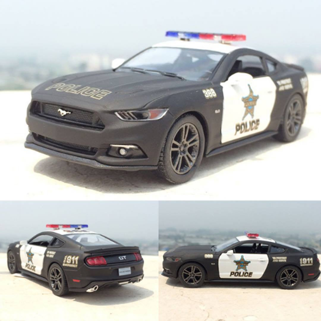 Ford Mustang Gt Police Hard Top Model Car