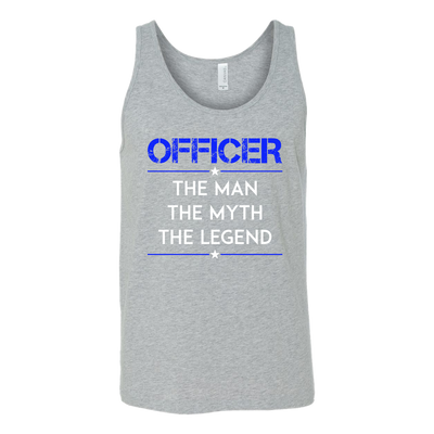 Officer, The Man, The Myth, The Legend Tank Top