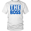 The Boss & Real Boss Couples Thin Blue Line Shirts