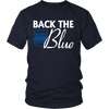 Back the Blue Shirts and Hoodies