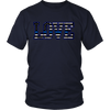LOVE - Thin Blue Line Flag Shirt