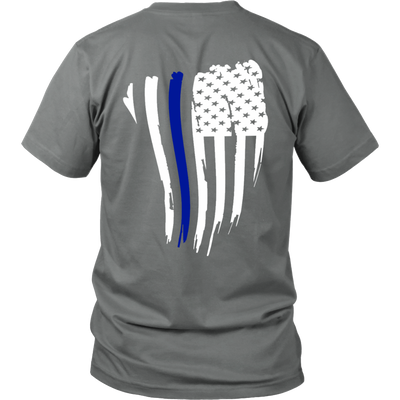Thin Blue Line American Flag Shirt - Thin Blue Line Shop 5b2428ee3bd