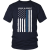 Thin Blue Line Flag Honor Respect Shirt