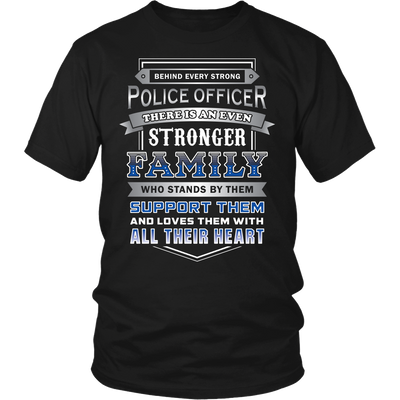 Family Support Their LEOs Shirt