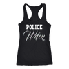 Women's Police Wifey Tank Top