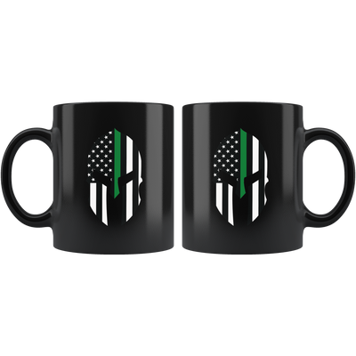 Thin Green Line Spartan Mug