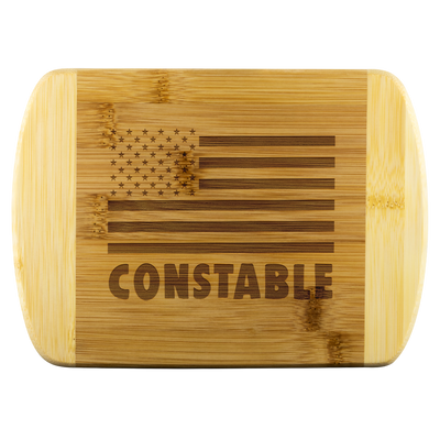 Constable Round Edge Chopping Board