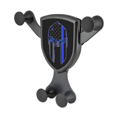 Thin Blue Line Spartan Gravitis - Wireless Car Charger