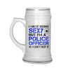 I Hate Being Sexy But I'm A Police Officer Beer Stein Mug