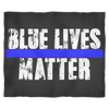 Blue Lives Matter Fleece Blanket