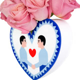 SAME LOVE HEART VASE - BOY