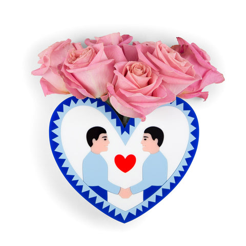 LOVE WINS BROOCH