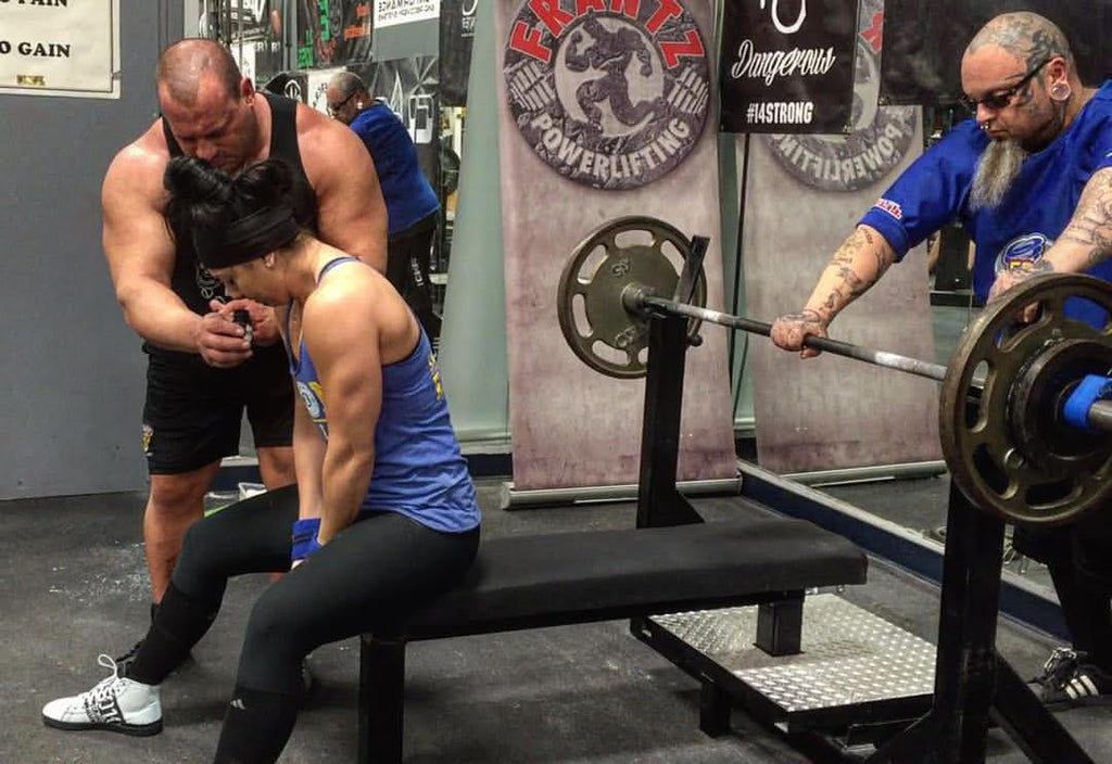 Powerlifting, bench press
