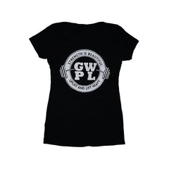 GWPL Nation Tee - Black - Girls Who Powerlift - 1