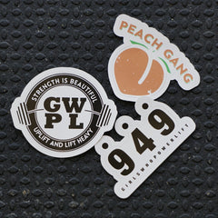 GWPL Decal Pack
