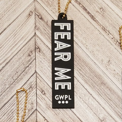 Fear Me Key Tag
