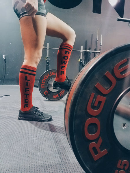 Power Lifter Deadlift Socks